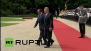 Germany: Egypt's el-Sisi meets Gauck at Berlin's Bellevue Palace