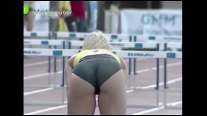 Секси моменти от женския дълъг скок