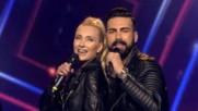 Превод !!! Sasa Kapor i Sonja Kocic - Strah od ljubavi (tv Prva 02.04.2017)
