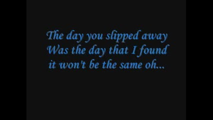 Avril Lavigne - Slipped Away [~lyrics~]