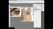 Rihanna - Рисуване С Photoshop (Страхотен  Резултат)