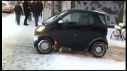 Мисията невъзможна : Зимни гуми срещу лед