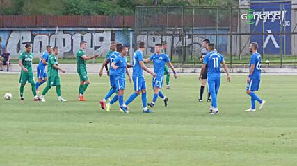 Двата гола на Левски срещу Витоша