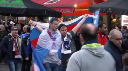 France: Russian football fans gear up for France match