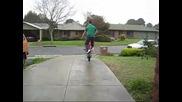 Pitbike Circle Wheelies