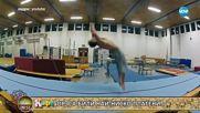 """Актьорът Робърт Мазер пред камерата на """"На кафе"""" (15.06.2018)"""