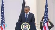 Obama To Close Historic Kenya Visit With National Address