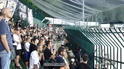 Лудогорец - Партизан - Агитката на Партизан! *31.07.2013г.*