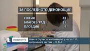 Новите случаи на коронавирус у нас са 157, направените тестове - 17 862