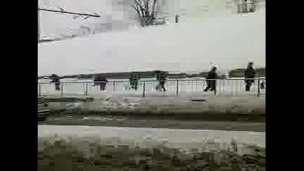 Акция Анти Сняг Град Русе !