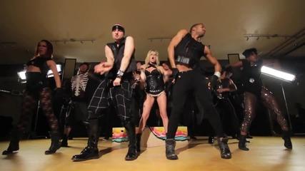 Официална хореография на ( Drop Dead) Beautiful - Britney Spears - Femme Fatale Tour 2011