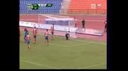 Сливен - Левски 1 - 1 посл. мин., спасяване на Караманов