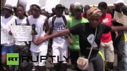 South Africa: Tuition fee rise draws huge protest at Pretoria University