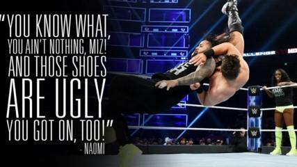 Naomi tries to get inside Miz's head in intense WWE MMC Playoffs