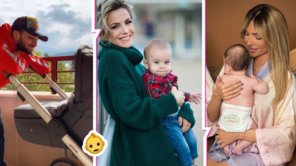 Звезден бейби бум през 2019 г.! Ето кои БГ звезди станаха родители за първи път!