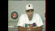 Roland Garros 1996 : Сампрас - Кафелников