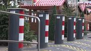 Germany: Decorated barriers protect Berlin Breitscheidplatz Christmas market