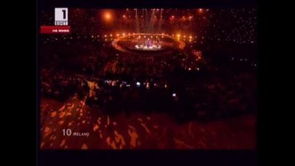 Eurovision 2010 Final * Niamh Kavanagh (ирландия) - Its for you