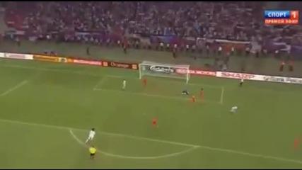 Гърция победи Русия с 1:0 и се класира напред!!! Евро 2012