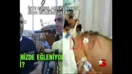 Barisin kazadan 24 saat önceki Görüntüler!!!şok şok şok