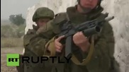 India: Russian and Indian troops take part in 'Indra-2015' military drills