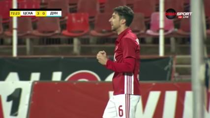 ЦСКА не спира да бележи във вратата на Дунав