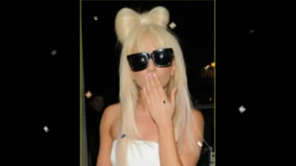 lady gaga hair bow