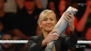 Wwe Raw 27.07.2015: Русев, Лана и Summer Rae