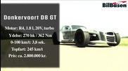Donkervoort D8 Gt tuning test