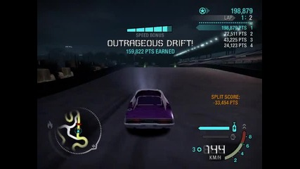 Need For Speed Carbon Drifting With Dodge Charger R/t