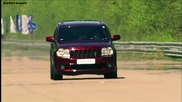 Jeep Srt8 vs Porsche Cayenne Gemballa