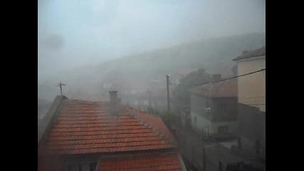 Бурята в Сливен 16 08 2014