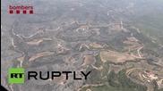 Spain: Wildfire in Odena devastates over 1200 hectares