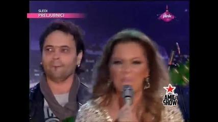 Ivana Selakov - Listen - (Live) - Ami G Show - (TV Pink 2013)