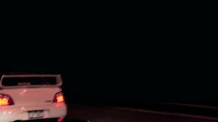 Бяла Impreza Wrx Sti и бяла E46 M3