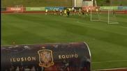 Жорди Алба се включи в последната тренировка на Испания