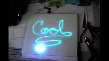 Син Лазер Рисува !