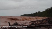 Огромни вълни на езеро Супериор, Илинойс 10.9.2014