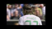 21.08.2010 Хофенхайм 0 - 1 Вердер Бремен гол от дузпа на Тостер Фрингс