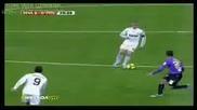 Гол на Cristiano Ronaldo (real Madrid - Malaga 2 - 0) [ 2 част ]