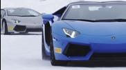Lamborghini Winter Accademia- каране при зимни условия