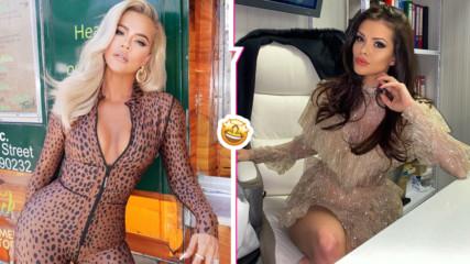 Красотата на Преслава впечатли световна звезда, Кардашиян с коментар за българката
