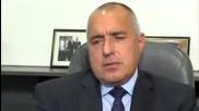 Бойко Борисов пред македонския журналист Васко Ефтов