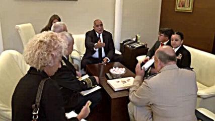 Борисов се срещна с председателя на Военния комитет на НАТО сър Стюарт Пийч