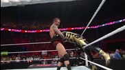 Goldust vs. Randy Orton & Batista - No Holds Barred Handicap Match: Raw, May 26, 2014
