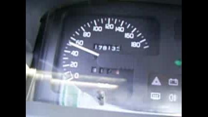Renault Clio 1.2 55hp Ускорение 0 - 100km/h