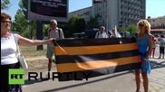 Bulgaria: Ataka activists protest the opening on NATO centre in Sofia