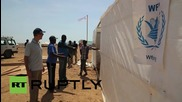 Djibouti: Yemeni refugees arrive at WFP emergency camp in Obock
