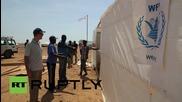 Djibouti: Yemeni refugees arrive at WFP emergency camp in Obock