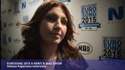 Helena Paparizou Interview Greece Decides 2015 by Oikotimes